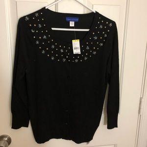 Sweaters - Medium cardigan, hand made design!